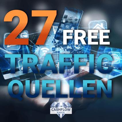 27 kostenlose Traffic Quellen