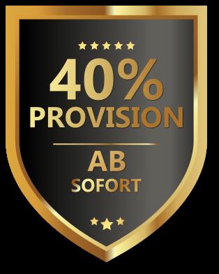 40% Affiliate-Partner Provision