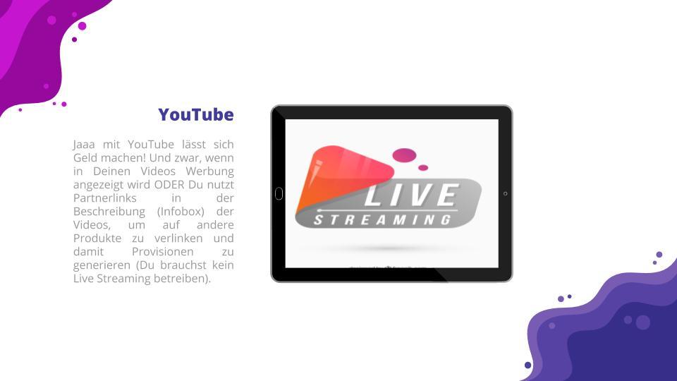 YouTube als passive Einnahmemöglichkeit