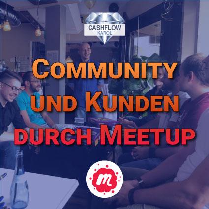 Community und Kunden durch Meetup