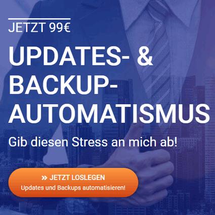 Updates- und Backups-Automatisierung