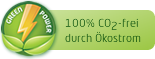 100% Co2-frei durch Ökostrom by all-inkl