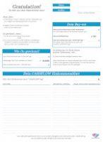 Cashflow 101 & 202 Einkommensübersicht & Bilanzblatt, Finanzblatt (back)
