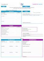 Cashflow 101 & 202 Einkommensübersicht & Bilanzblatt, Finanzblatt (front)