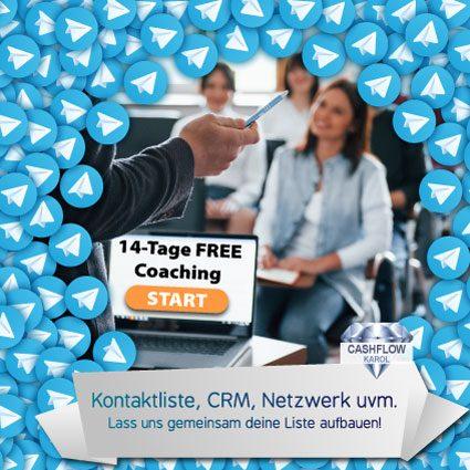 FREE 14-Tage-Coaching - Kontaktliste, CRM, Netzwerk aufbauen!